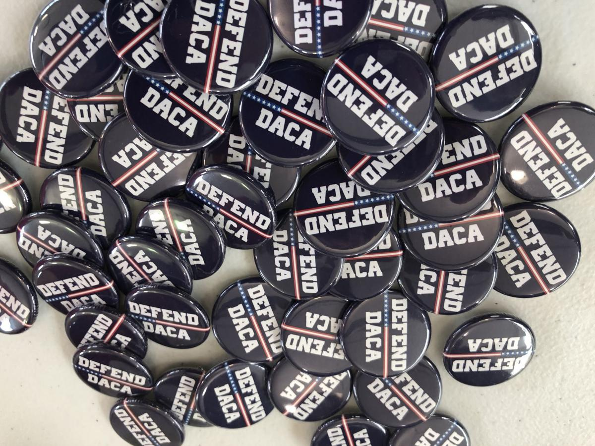 Defend DACA buttons