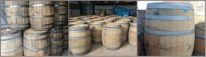 Lotsa barrels collage