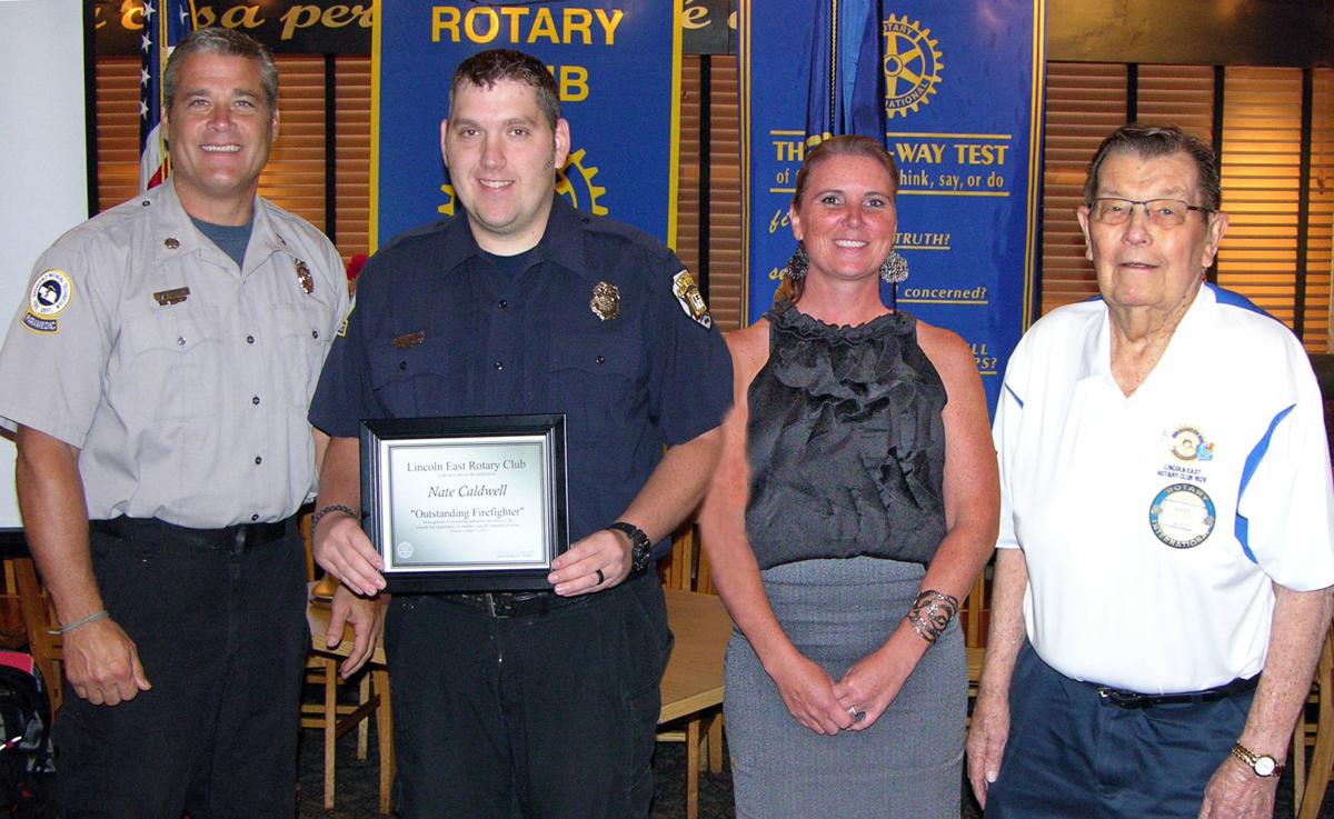 Outstanding firefighter award group