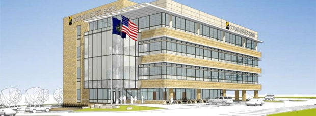 Cornhusker Bank HQ rendering