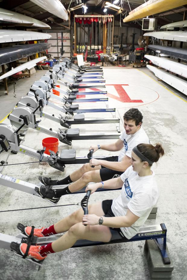 When they row -- yes, row -- onto the sandy shores of Antigua in about two months, Caitlin Miller, SNR Alumi, will have completed a journey of 3,000 nautical miles across the Atlantic Ocean.