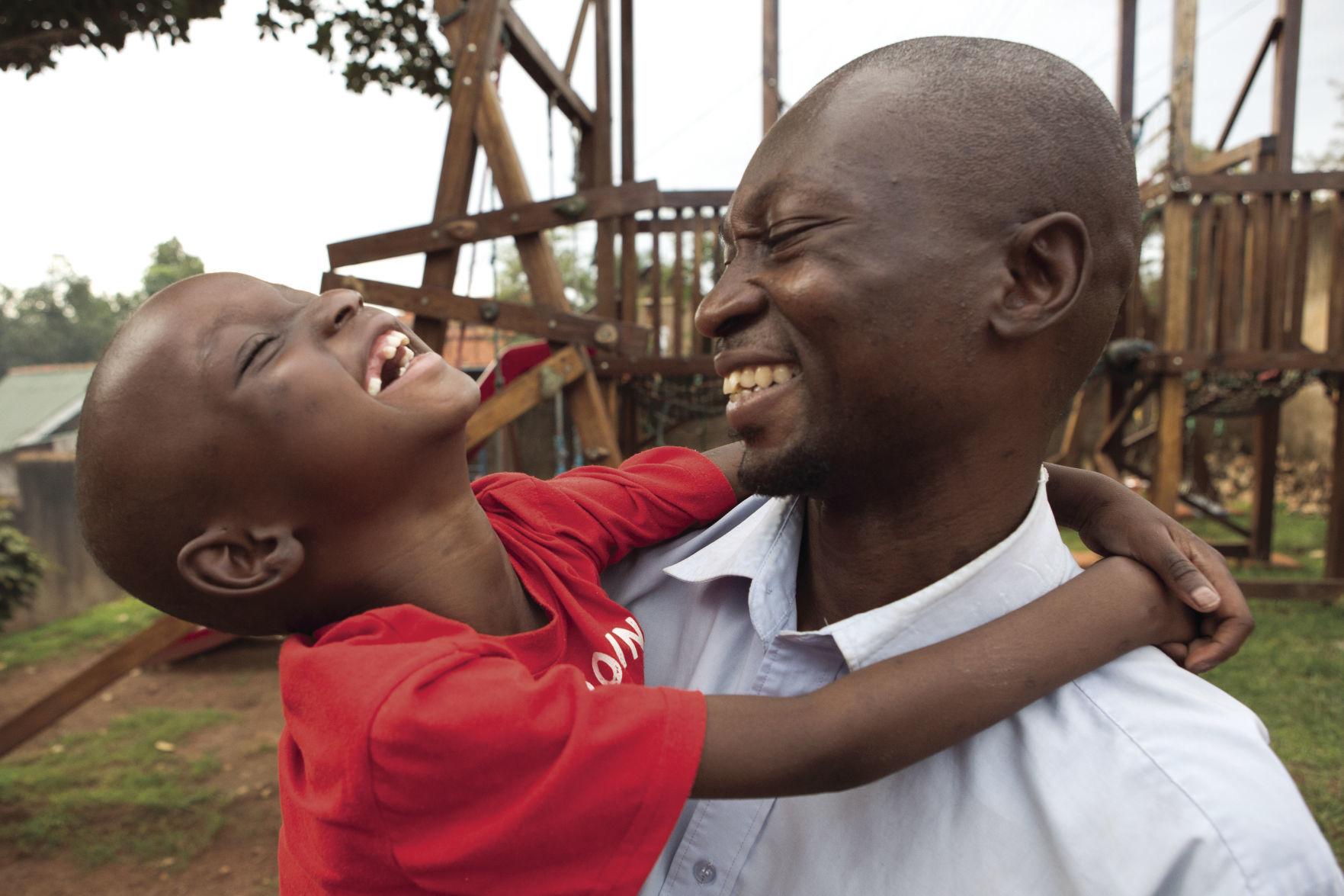 I Love Heart Kampala Black Kids Sweatshirt