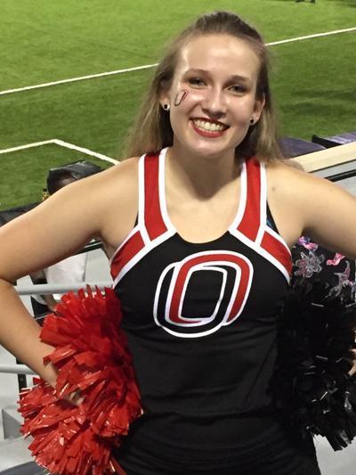 Breanna Smith of Lincoln is UNO cheer squad captain