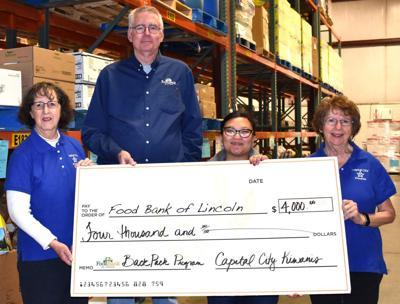 Capital City Kiwanis donation