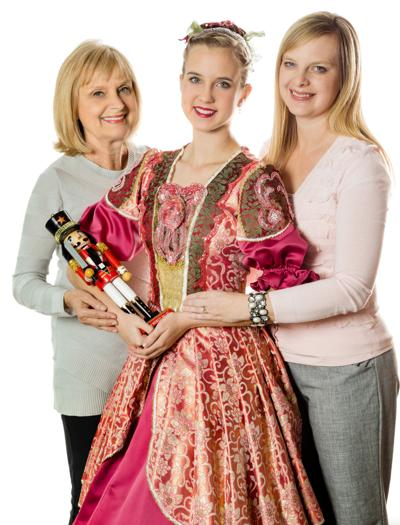 3 generations making nutcracker memories theater