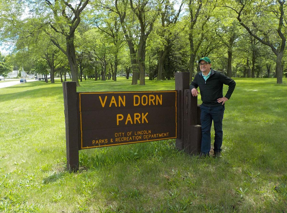 Chris Van Dorn by sign