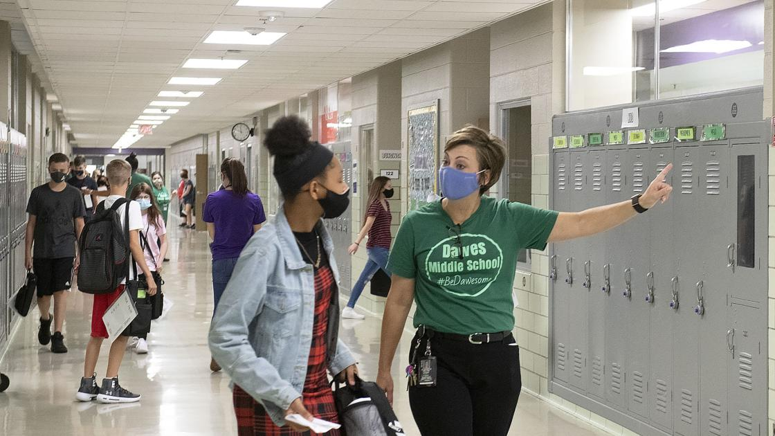 A tale of two middle schools in a pandemic