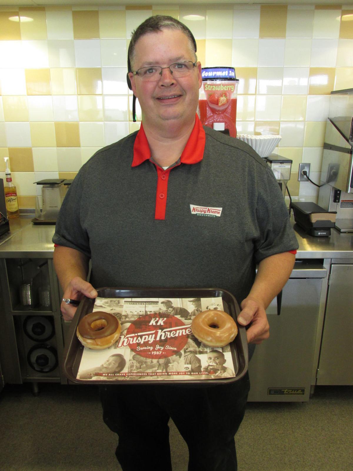 Krispy Kreme Donuts Manager John Hoskinson