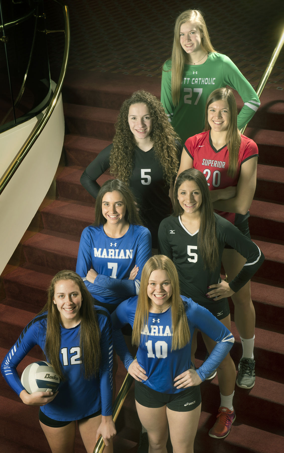 Super-State volleyball team