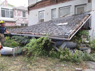 Porch crash
