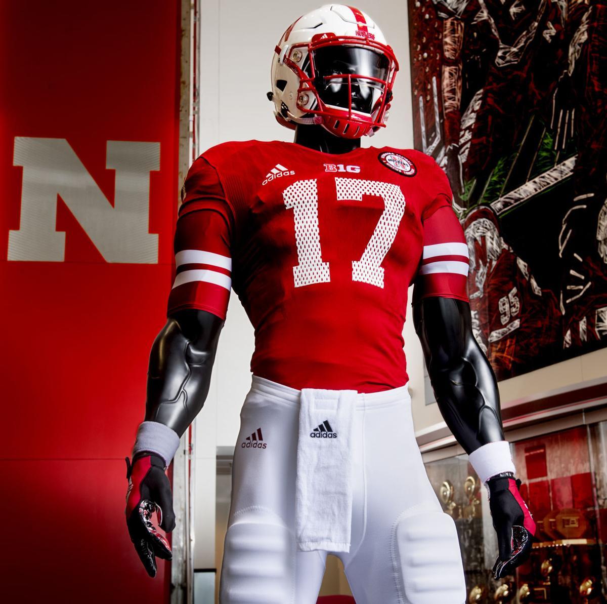 Nebraska and adidas Football unveiled the new Husker 1997 alternate football  uniform 2ef591a7b