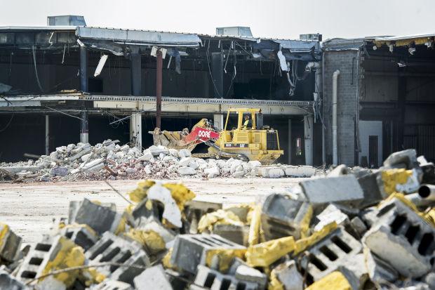 Cushman demolition