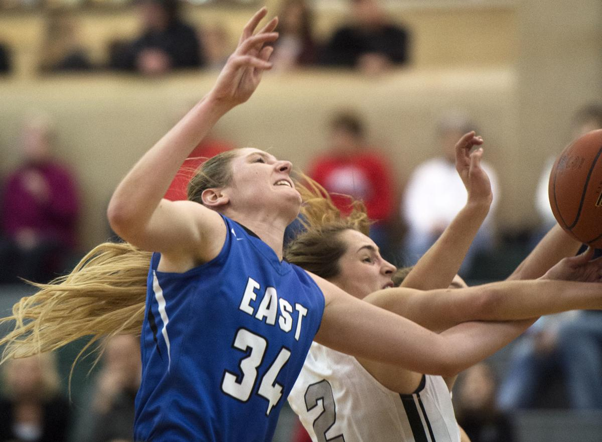 Lincoln East vs. Lincoln Southwest, girls hoops, 2/9/18