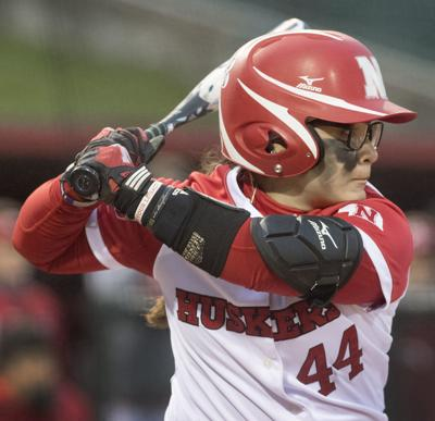 Nebraska softball vs. Northwestern, 4/28