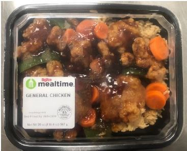 hy-vee asian meal