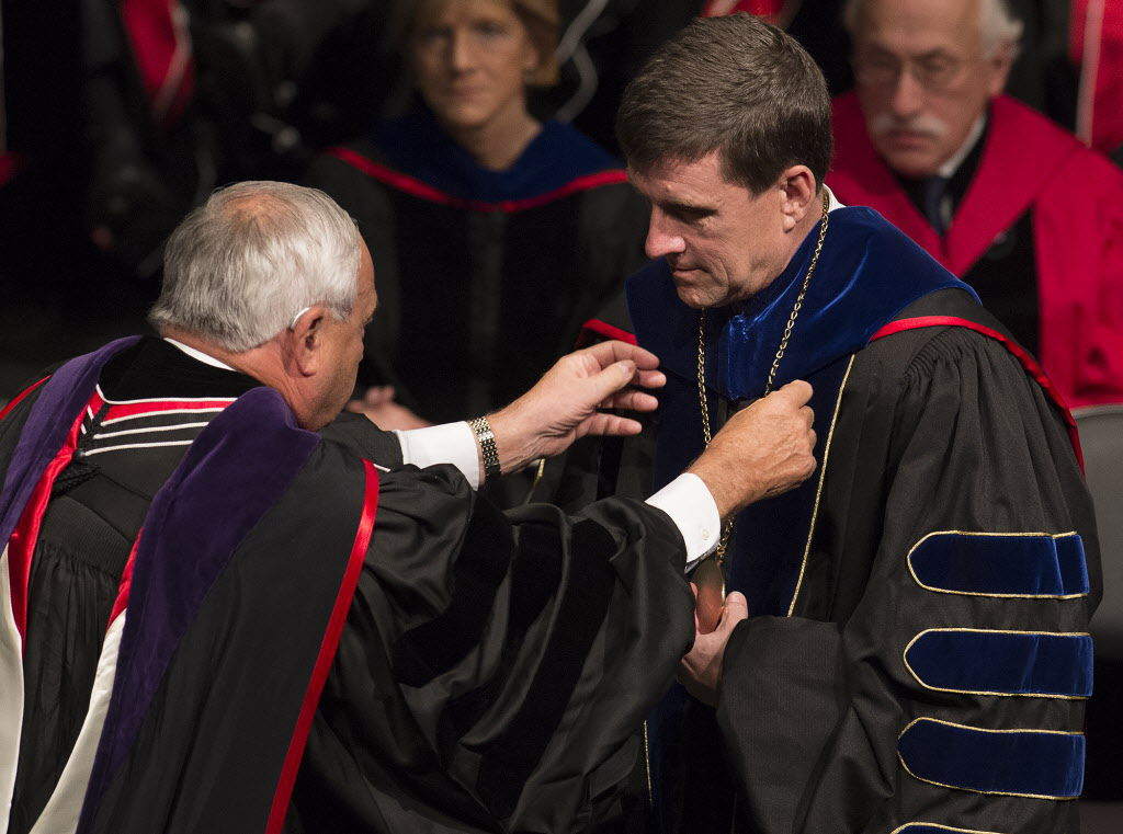 Hank Bounds investiture