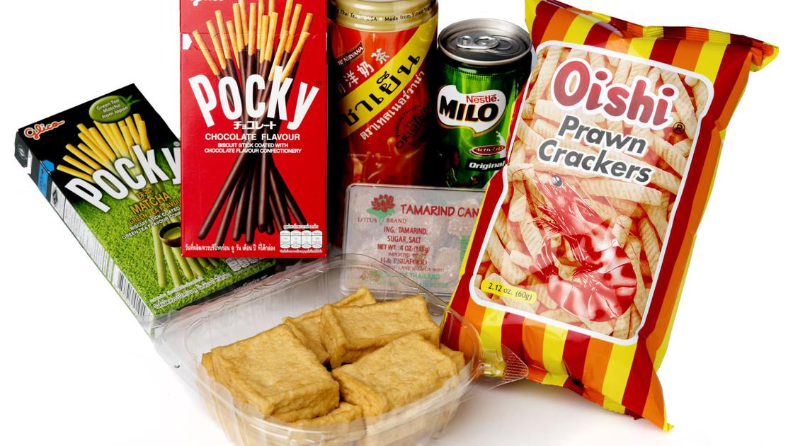 Cheap snacks abound at Vietnamese grocery store in Lincoln