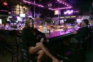 The Sopranos TV Show Bada Bing Strip Club Glass Ashtray Change Tray Candy Dish Display Prop