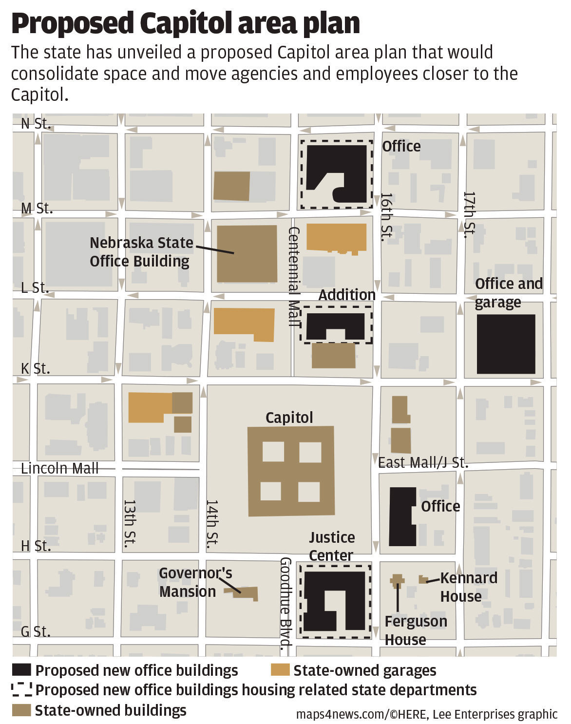 Proposed Capitol area plan