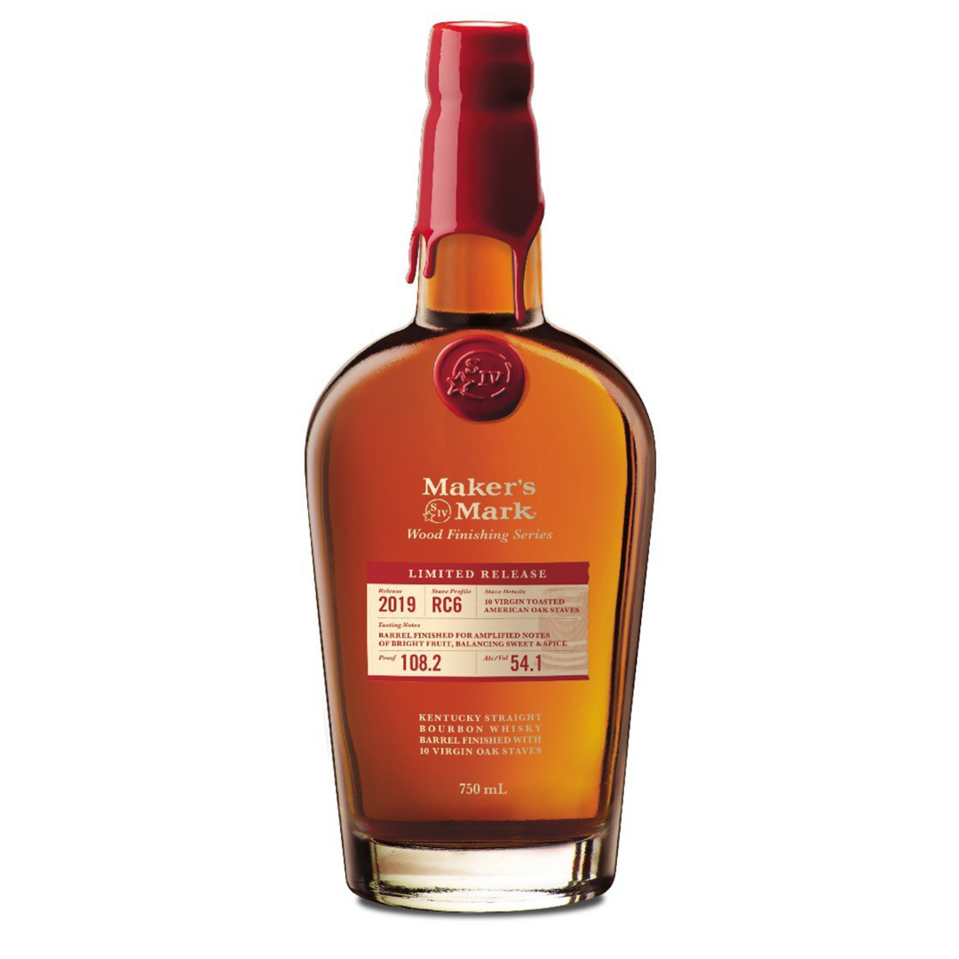 Maker's Mark Wood Finishing Series 2019 Limited Release.