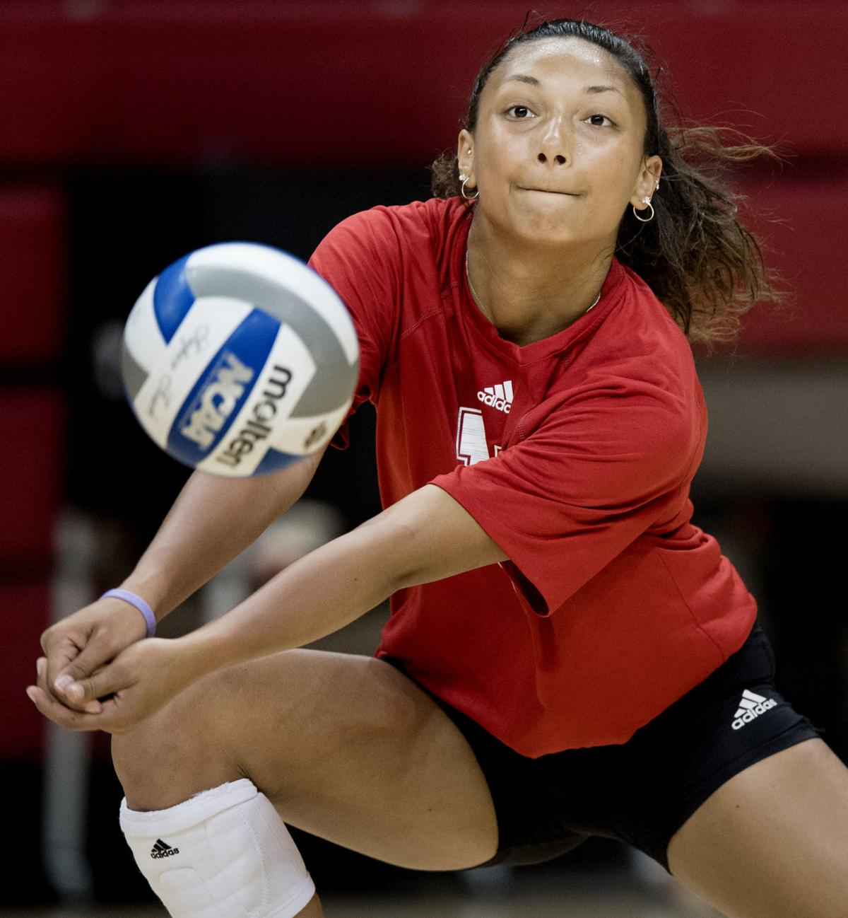 Nebraska Volleyball Spring Practice, 3.29
