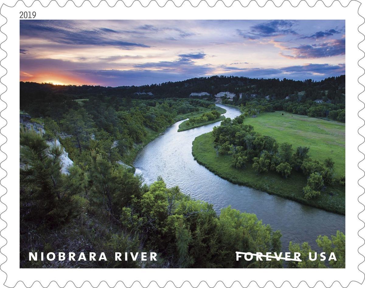 Niobrara River stamp