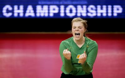 Archbishop Bergan vs. Humphrey/LHF, Class D-1 State Volleyball Championship, 11.10.18