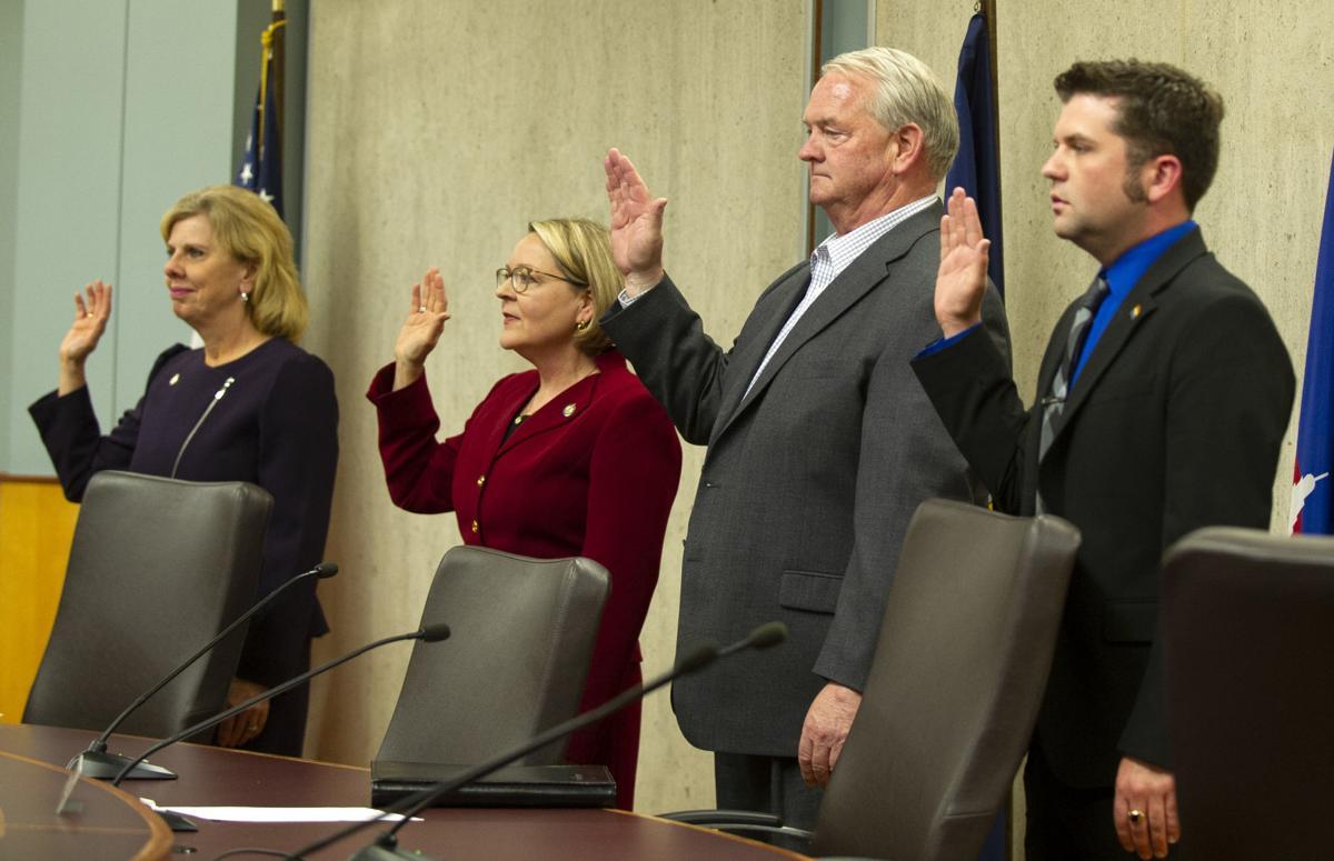 Swearing-in New Mayor Leirion Gaylor Baird, 5.20