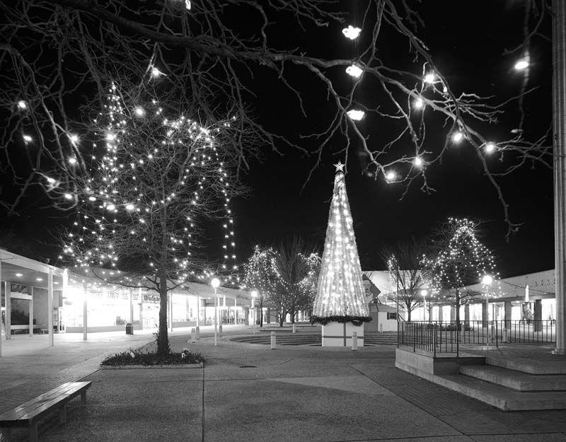Gateway at Christmas