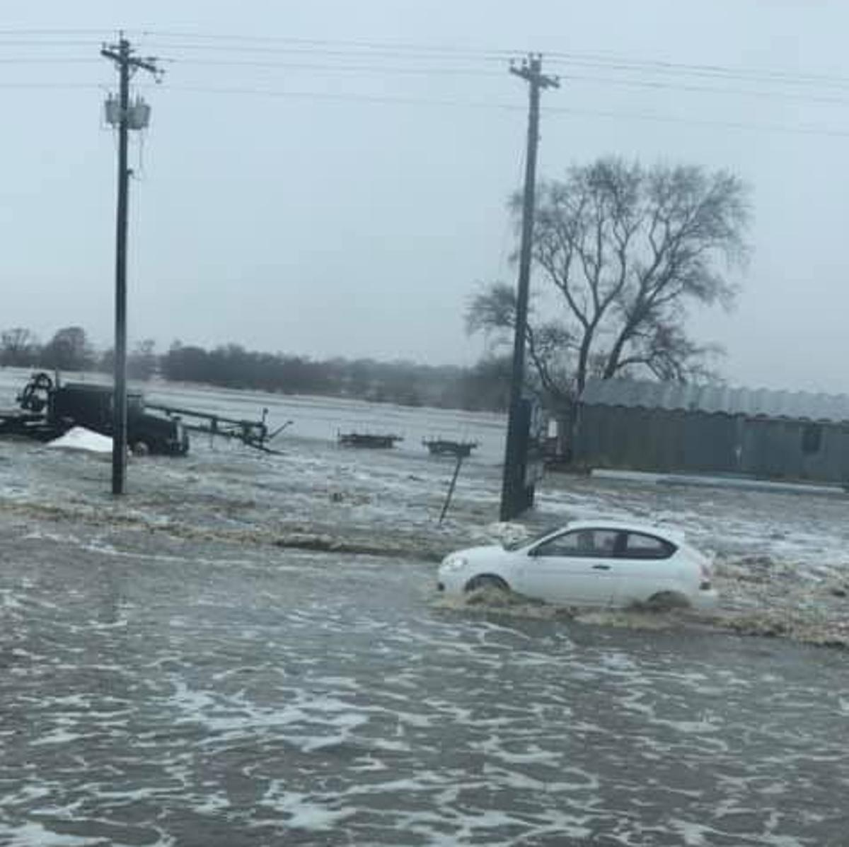 Flash flood emergency up for Platte after ice jam breaks