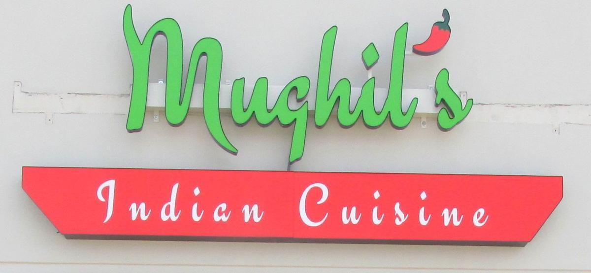 Mughil's exterior sign