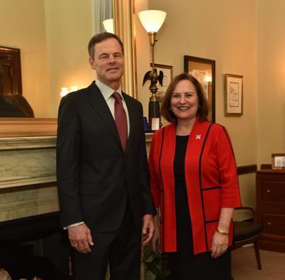 John Cook and Senator Deb Fischer