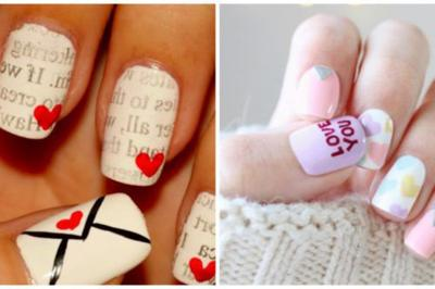 10 Valentine S Day Nail Art Designs That You Can Do Yourself