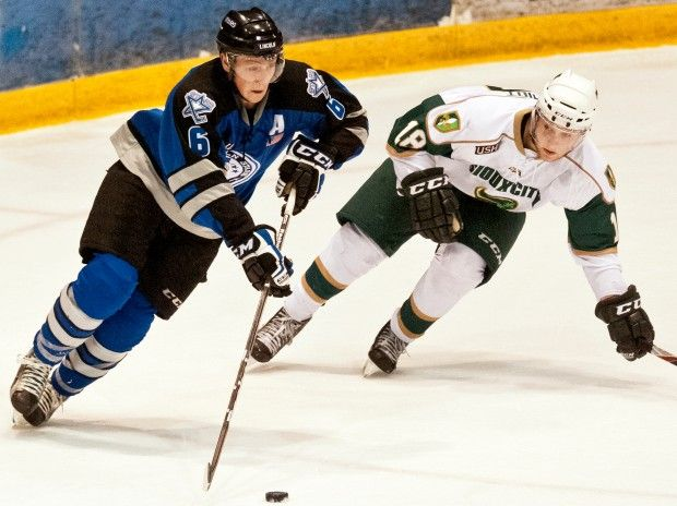 Lincoln Stars vs. Sioux City Musketeers hockey game