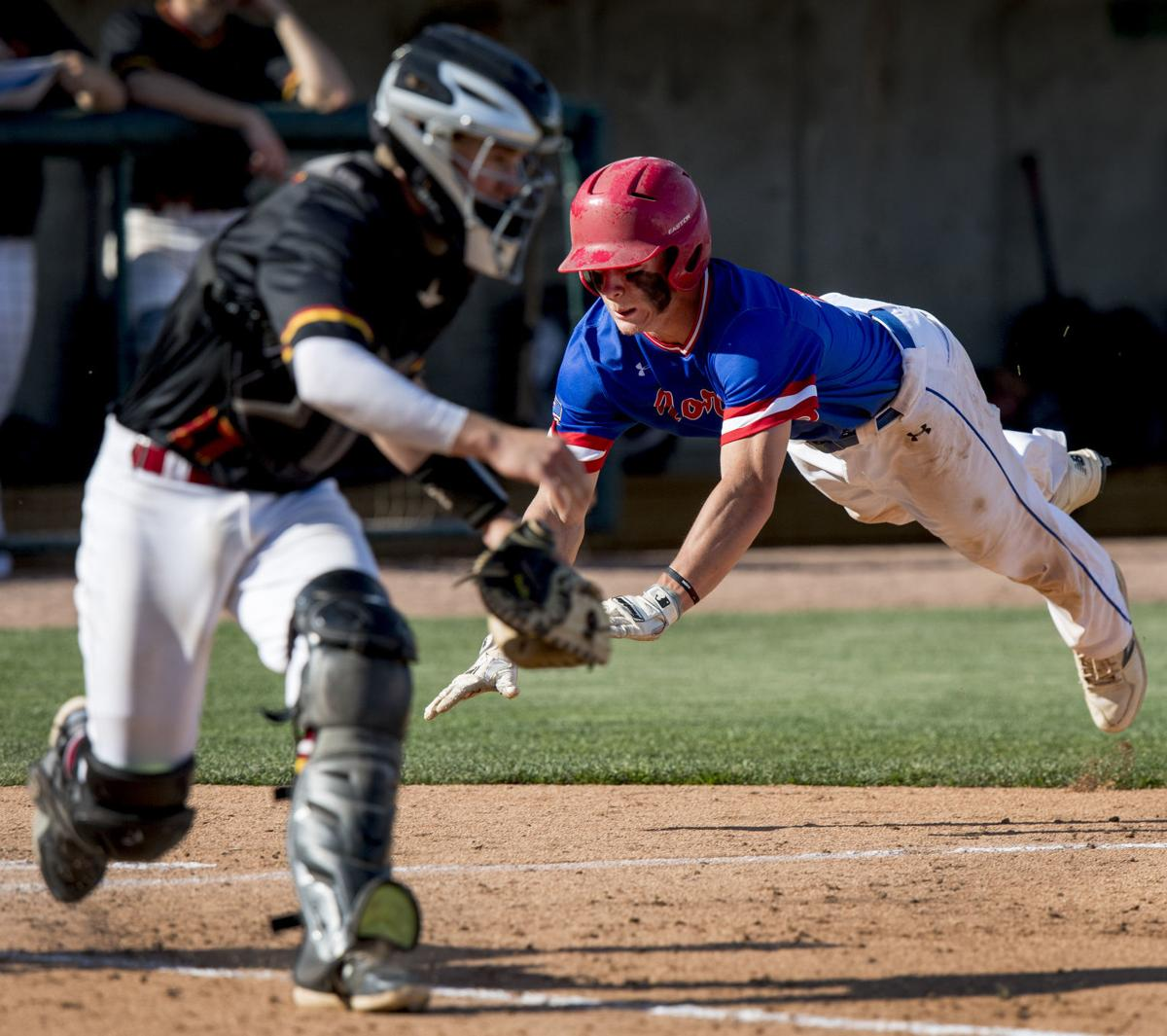 Class B state baseball, Roncalli vs. Norris, 5/16/18