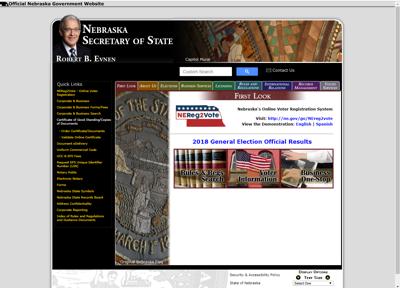 Secretary of State website
