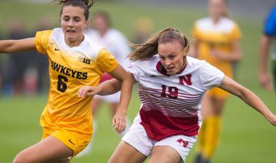Nebraska vs. Iowa Soccer, 10/5