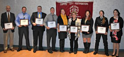 Law enforcement officers and dispatchers honored
