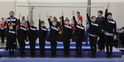 Pioneer Gymnastics Boys Program Emphasizes Positive Attitude