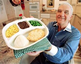 Gerry Thomas, inventor of the TV dinner, dies at 83