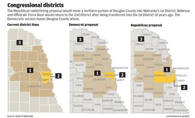 Congressional redistricting maps