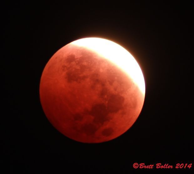 Lunar Eclipse Blood Moon Supermoon Harvest Moon They Re All