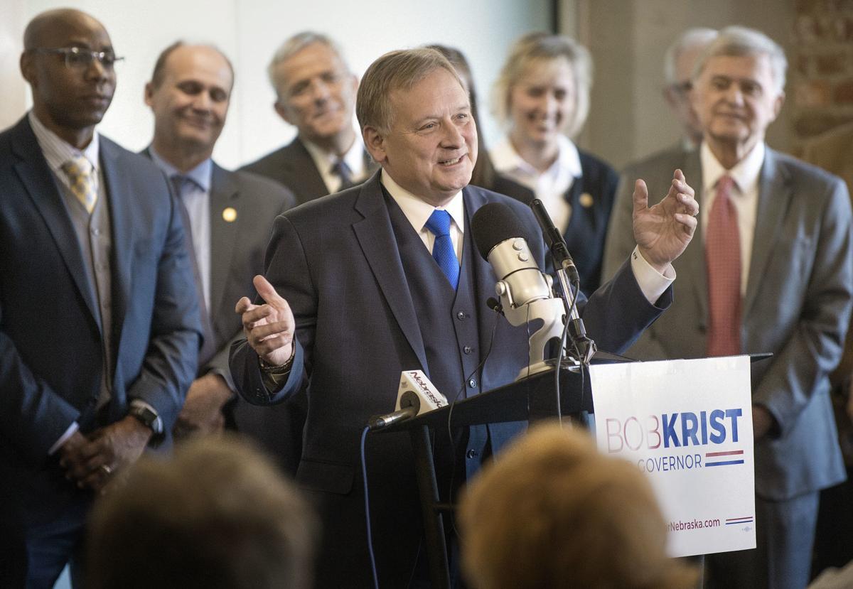 Bob Krist campaign announcements