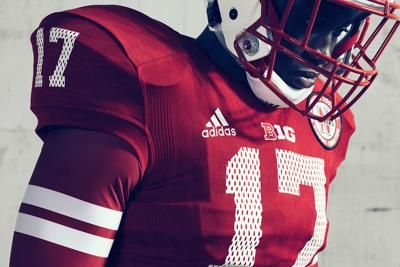 fb28e1d7f5b Adidas unveiled the Huskers  alternate uniforms for this year in late July.