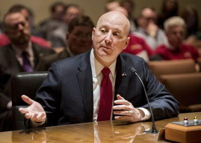Gov. Ricketts Testifies for LB303, 2.27
