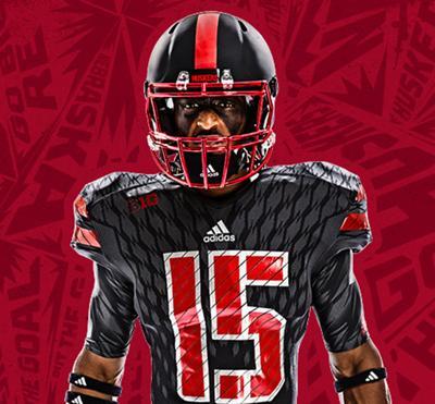 51dfd0cf Nebraska will wear its black alternate uniforms against Northwestern on Oct.  24.