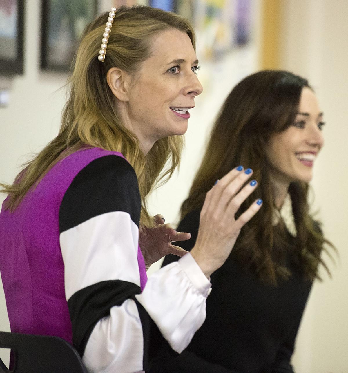 Dawn Luebbe and Jocelyn DeBoer