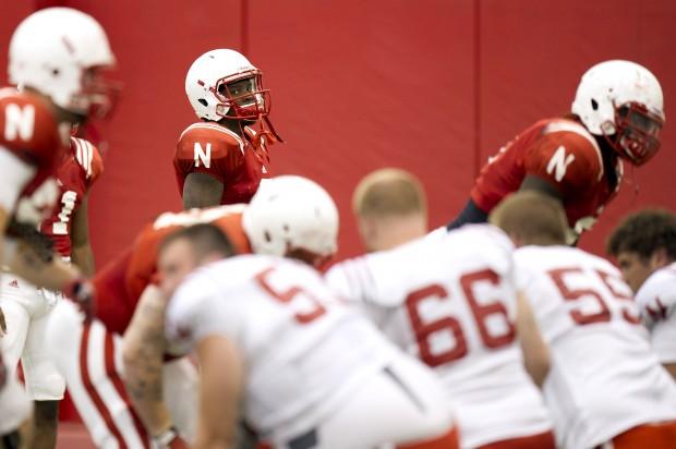 NU Football Practice, 9/4/2012
