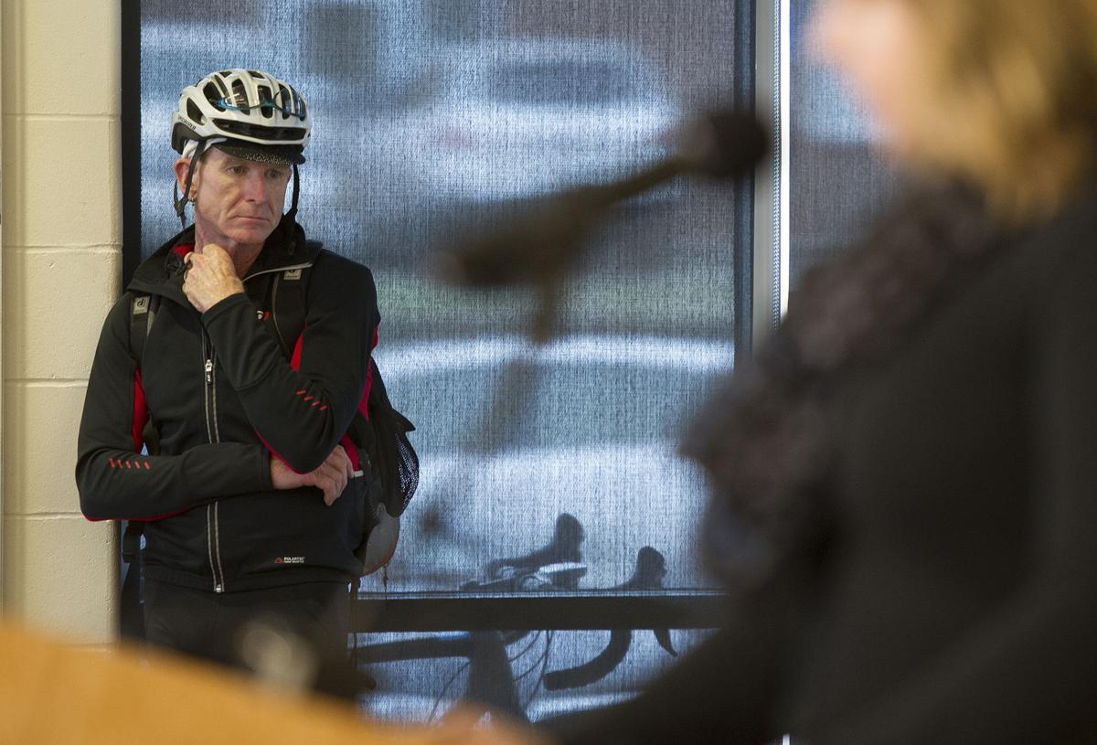 Cyclist's death