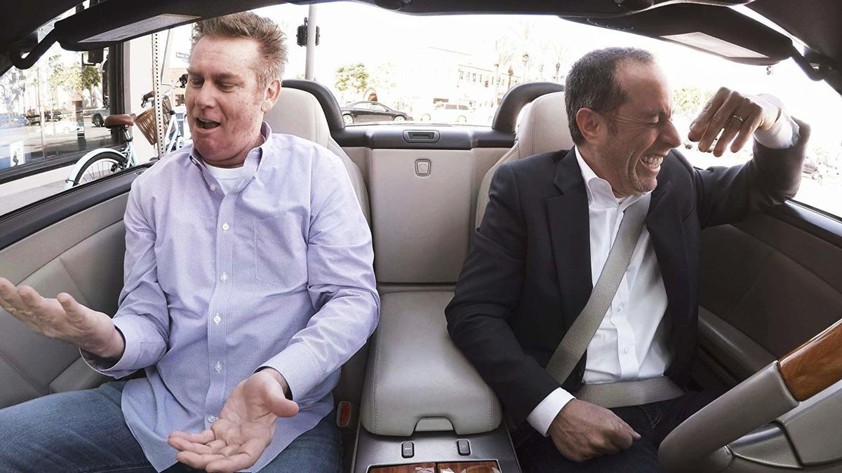 Brian Regan and Jerry Seinfeld